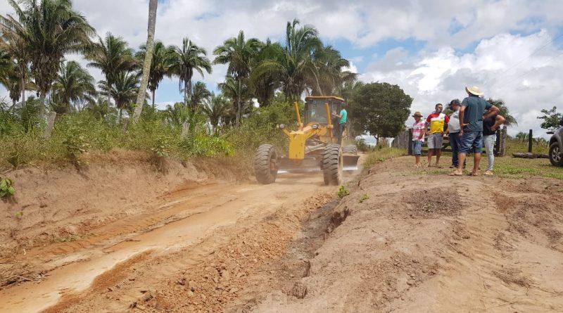 Prefeitura de Amarante retoma serviços de manutenção e reparos em estradas da zona rural