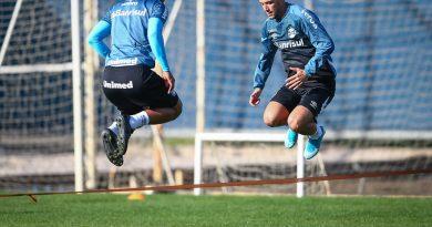Grêmio realiza treinos físicos no CT Luiz Carvalho